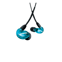 SHURE SE215 UNI EARPHONE, BLUE